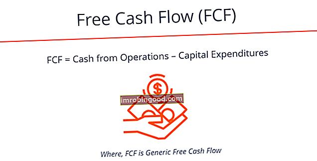 Mikä on vapaa kassavirta (FCF) -kaava?