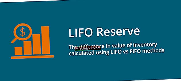 Co je to rezerva LIFO?