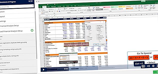 Microsoft Excel -määritelmä