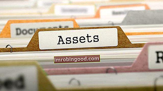 Jaké jsou hlavní typy aktiv?