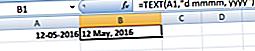 Mikä on Excel TEXT -toiminto?