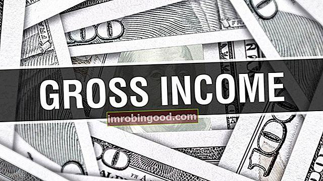 Co je hrubý příjem?