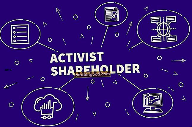 Co je aktivistický akcionář?