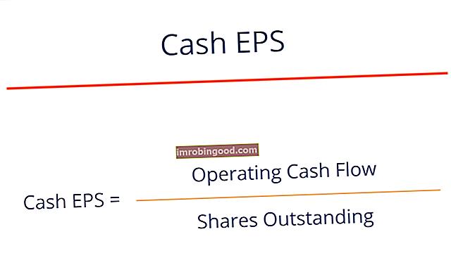 Mikä on käteisen osakekohtainen tulos (Cash EPS)?