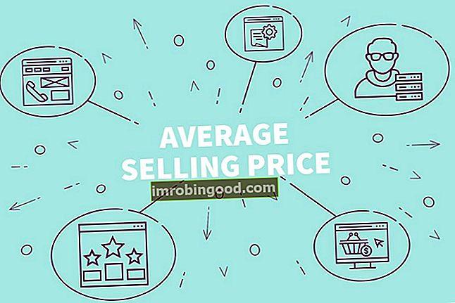 Mis on keskmine müügihind (ASP)?