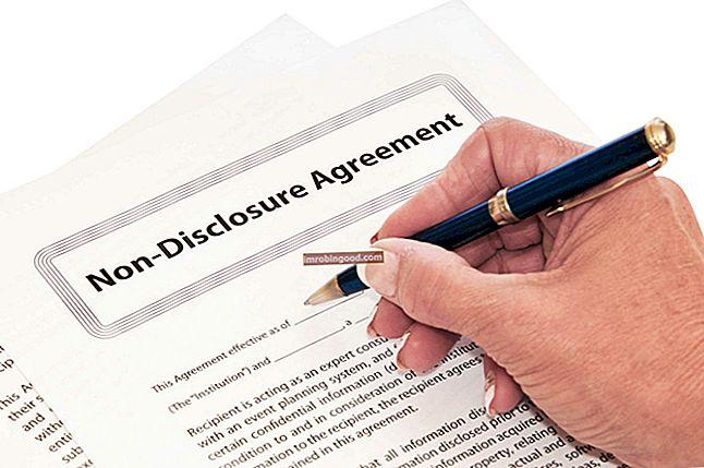 Mis on mitteavaldamise leping (NDA)?