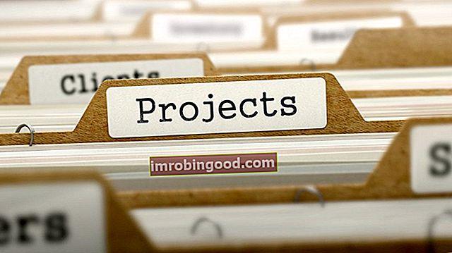 Co je to pořadí projektů?
