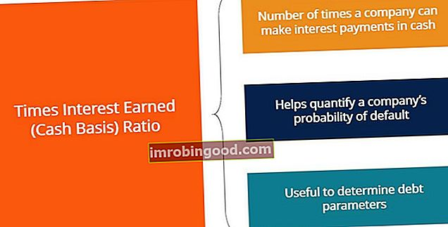 Times Earned Earned (Cash Basis) - Summary