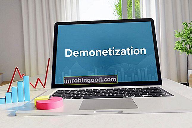 Co je demonetizace?