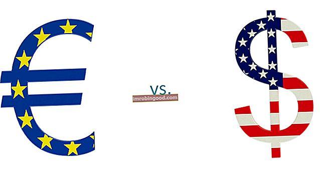 Mikä on euro - dollari (EUR / USD)?