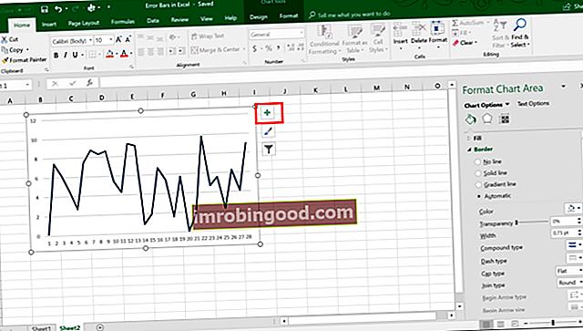 Mitä virhepalkit ovat Excelissä?